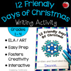 12 Friendly Days Of Christmas Book