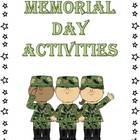 12+ Memorial Day Literacy Printables &amp; Activities