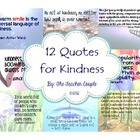 12 Quotes for Kindness