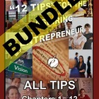 "ENTREPRENEURSHIP - ""12 Tips"" for the Aspiring Entrepreneur BUNDLE"