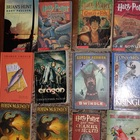 12 teen novels - Eragon, Hero and the Crown, Swindle, Harr
