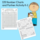120 Number Charts and Partner Activity K-1