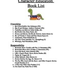 121 Character Education Books