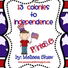 13 Colonies to Independence Pack