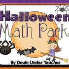 13 Halloween Math Activites and Centers
