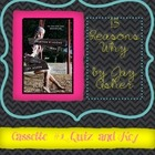 &quot;13 Reasons Why&quot; by Jay Asher Cassette One Quiz