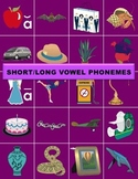 Short & Long Vowel Phonemes Manipulatives (with Phoneme Songs CD)