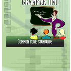 132 Page Language Arts & Grammar Lessons - Common Core Standards