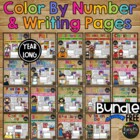 16 SETS of COLORING and WRITING Pages, FUNDRAISER