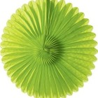 14inch Lime Green Paper Daisy