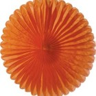 14inch Mango Orange Paper Daisy