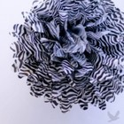 14inch Zebra Pom (Set of 4)