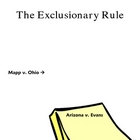 14th Amendment, Search and Seizure, Exclusionary Rule