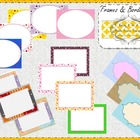 15 Assorted Borders & Frames