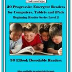 15 Emergent Readers for Computer/iPad, Beginning Reader Se