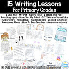 15 Writing Lessons for Primary Grades