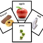 150+ Food Photo PECS PDF - Printable Pecs or Mini Flash Cards ABA