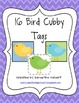 16 Bird Cubby Tags