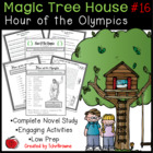 #16 Magic Tree House- Hour of the Olympics Novel Study