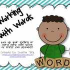 16 Working with Words Activities with Recording Sheets