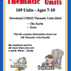 168 Thematic Units Bundle Information