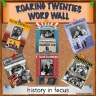 1920&#039;s Word Wall - Colorful Printable For Decorating Your 