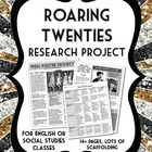 1920s/Roaring Twenties Research Project