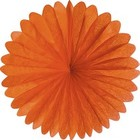 19inch Mango Orange Paper Daisy
