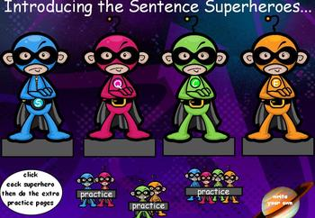 1.L.1 Types of Sentences ActivInspire Flipchart Common Core