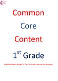 1.OA.5 Operations First Grade Common Core Math Worksheets
