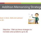 1.OA.6 Addition Memorizing Strategies