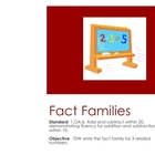 1.OA.6 Fact Families - Common Core Aligned