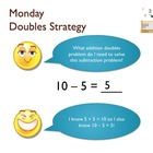 1.OA.6 Subtraction Memorizing Strategies (common core aligned)