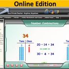 1st Grade A+ Interactive MATH Online - School Edition 90-Day