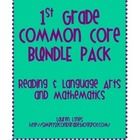 1st Grade Common Core BUNDLE {Reading & Language Arts; Mat