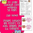 1st Grade Common Core MEGAPACK! (Owl theme)