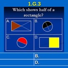 1st Grade Common Core Math 1 G.3 Reason With Shapes And Th