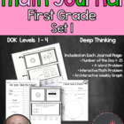 1st Grade- Common Core Math Journal 1st Edition