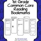 1st Grade Common Core Reading Bookmarks