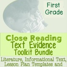 1st Grade Common Core: Tools for Close Reading, Assessment
