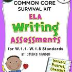 1st Grade Common Core Writing Assessment