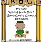 1st Grade Differentiated Reading Street Spelling Homework