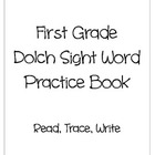 1st Grade Dolch Sight Word Practice Books