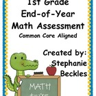 1st Grade End-of-Year Math Assessment