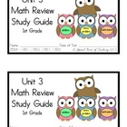 1st Grade Expressions Math: Unit 3 Review Study Guide