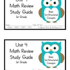 1st Grade Expressions Math: Unit 4 Review Study Guide