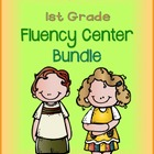 1st Grade Fluency Center Bundle - aligned with Common Core
