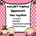 1st Grade Harcourt Trophies Supplement: Time Together