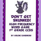"1st Grade High Frequency Words ""Don't Get Skunked!"""