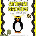 1st Grade Journeys Animal Groups {Unit 3, Lesson 15}